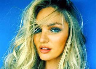 Candice Swanepoel Beautiful Face