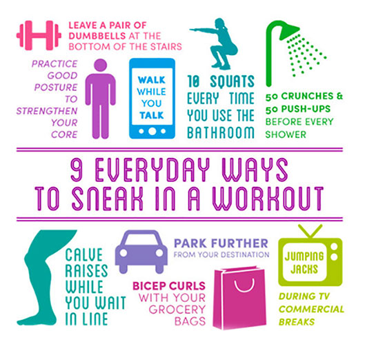 Everyday Ways To Work Out Find Your Motivation