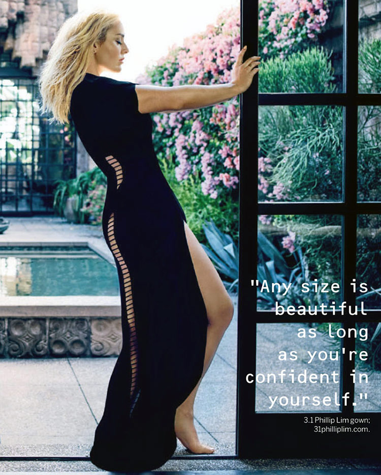 Lindsey Vonn Body Image Confidence Quote