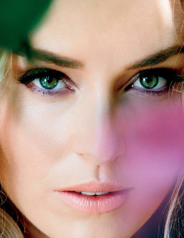 Lindsey Vonn Face Close Up of her eyes