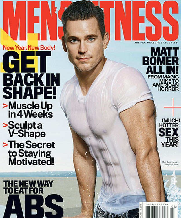 Matt Bomer Workout T Get A Ripped Body Pop Workouts