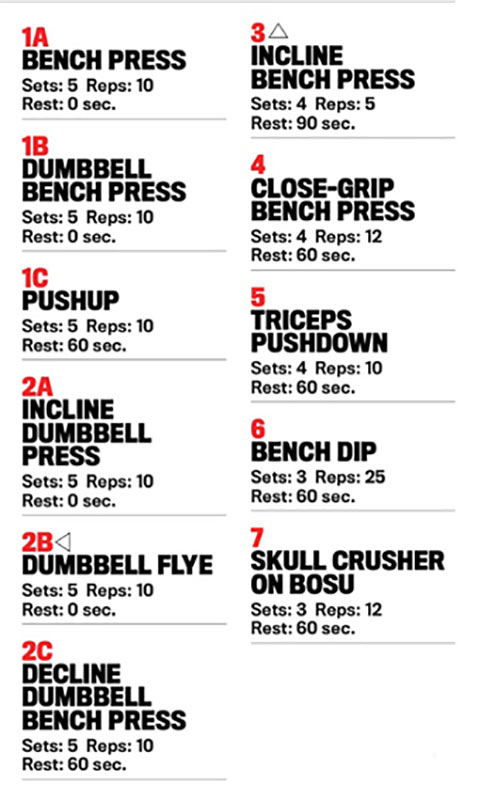 get ripped workout
