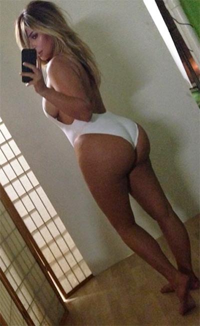 Kim Kardashian Butt Selfie
