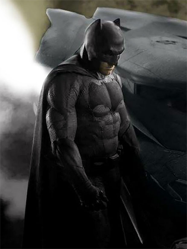 Ben Affleck Batman Batsuit