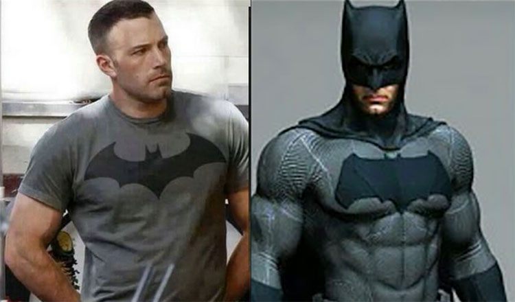 Ben Affleck Batman Routine Batsuit & Body comparison