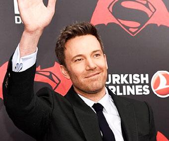 Ben Affleck Batman v Superman Premiere