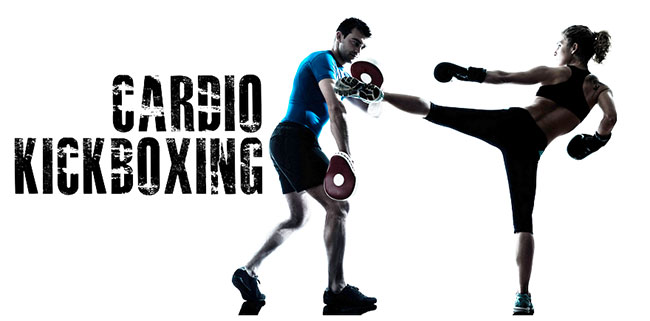 Cardio boxing workout helps burn fat and lose weight