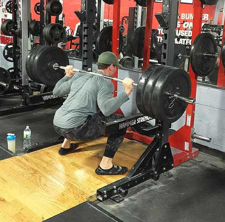 Ryan Reynolds Deadpool Workout Squats
