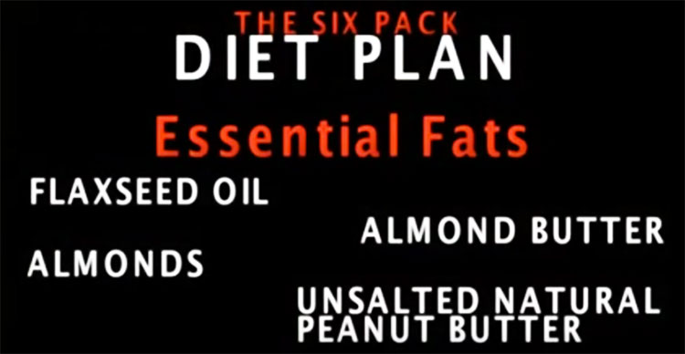 essential fats Ben Affleck ate for Batman like almond butter and flaxseed oil