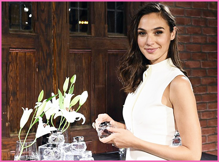 Gal Gadot Diet pictured in white dress.