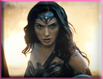 Wonder Woman Gal Gadot from Batman v. Superman in 2016.