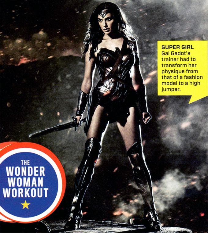 a64f50670a7c21 Gal Gadot Wonder Woman Workout Summary