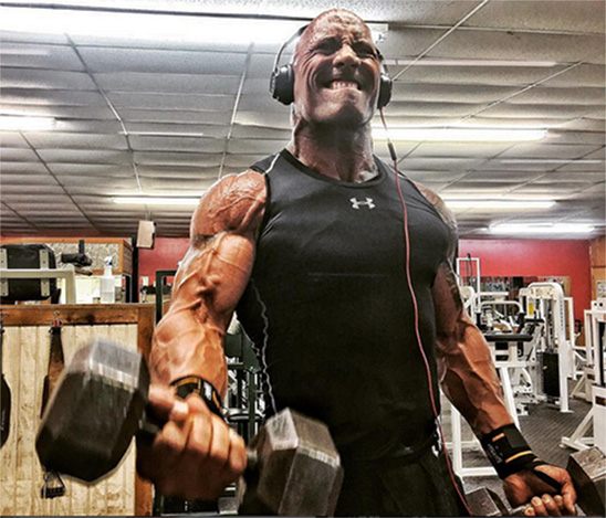Get Massive Arms With The Rock