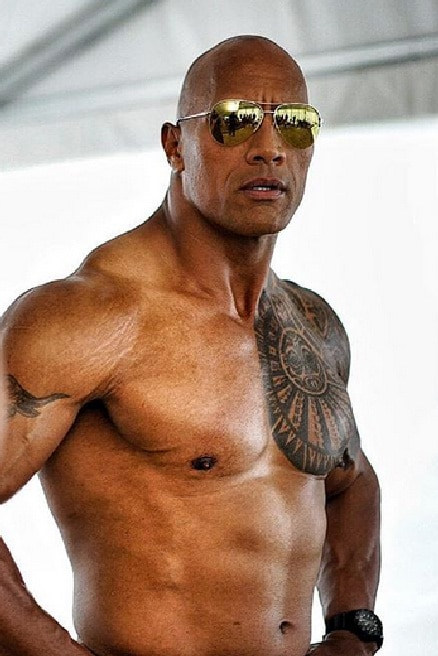 The Rock Abs Baywatch