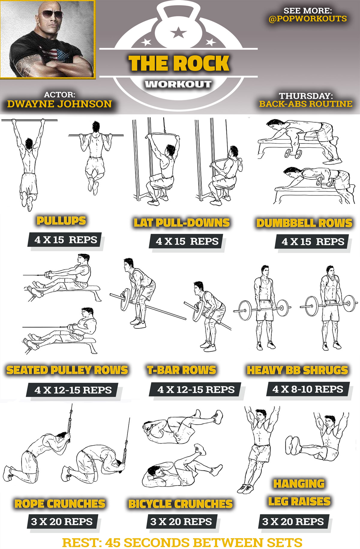 the rocks workout