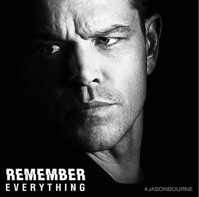 Jason Bourne Movie Matt Damon