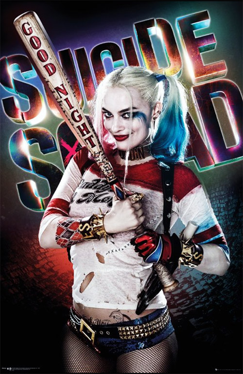 Margo Robbie as Harley Quinn in Suicide Squad