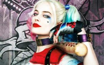 Margot Robbie Harley Quinn Face Focus Picture