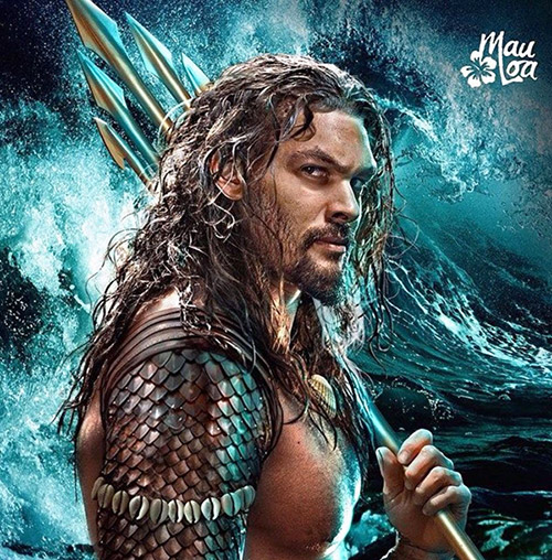 Aquaman Jason Momoa Chest