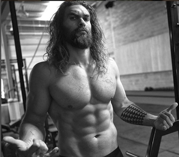 Aquaman Workout Jason Momoa Six-pack