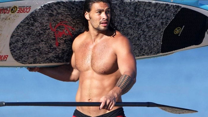 Jason Momoa Abs Aquaman Workout
