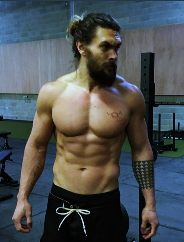 Jason Momoa Body Six-pack Abs